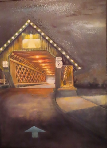 Cindy Parsons Paintings, Come this Way, 40 x 30, oil $595