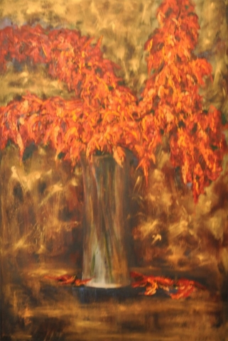 Cindy Parsons, oil painting, Transformed