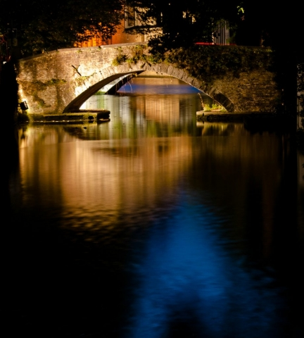 "Arnold Berkman, ""Canal Photography"", $500.00"