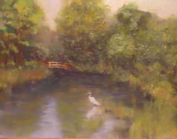 Cindy Parsons Paintings, Tranquility, 11 x 14 oil, $195