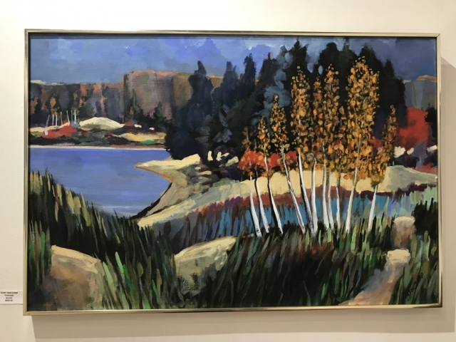 Gary Van Gorp, Colorado, acrylic $600
