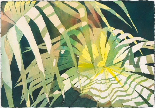 Sherry Adams Foster, Scattered Sun, 41 x 34, watercolor, $550