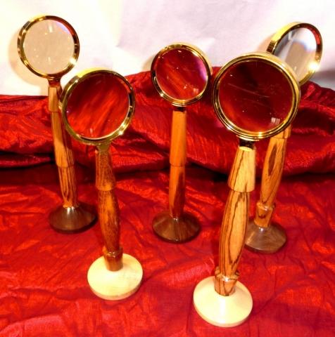 Dennis Montville, Standing Magnifying Glasses, $35