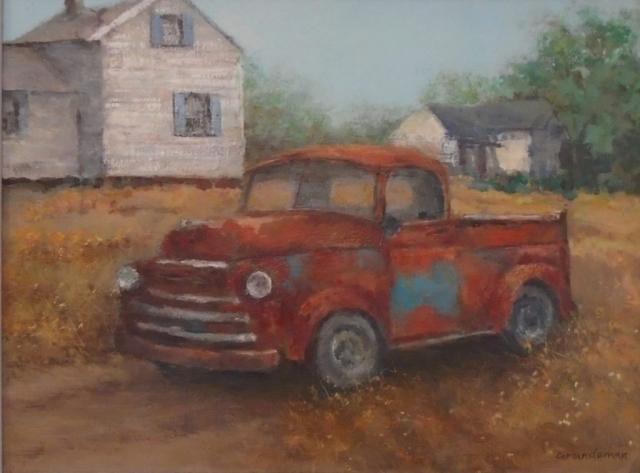 """Barbara Grundeman, """"Dollar Bay Delight"""", 12""""x 16"""", acrylic,$275.00                                                                                                                12""""x 16""""  acrylic                                                                                                                              $275.00"""