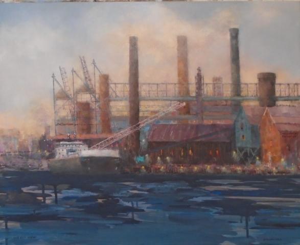 Barbara Grundeman, Lawrence street Gallery