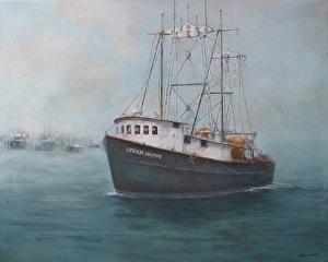 "Barbara Grundeman, ""Ocean Gypsy"", $900"