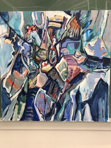 Steve Rubin, K6, acrylic, $620