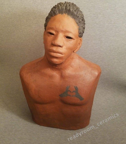 """Patricia Simpson, Loving Father, 23"""" tall,$1800"""