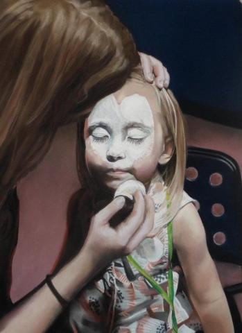 Candice Grieve, Trust, pastel, $1000