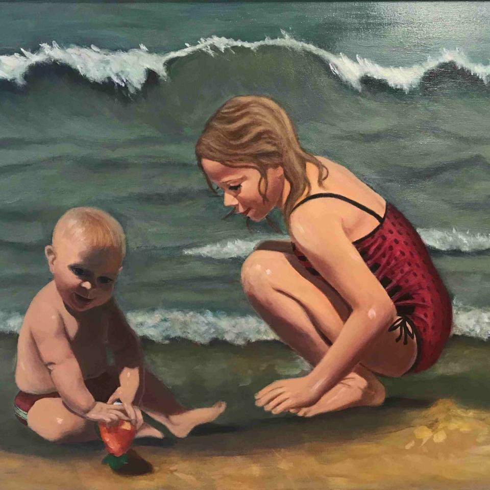 Colleen Kelly Sanders, Making Memories, Acrylic, $500