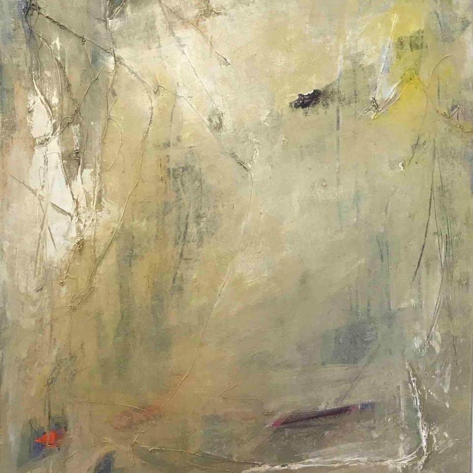Jan Brown, The Quiet of It, Acrylic, $3000