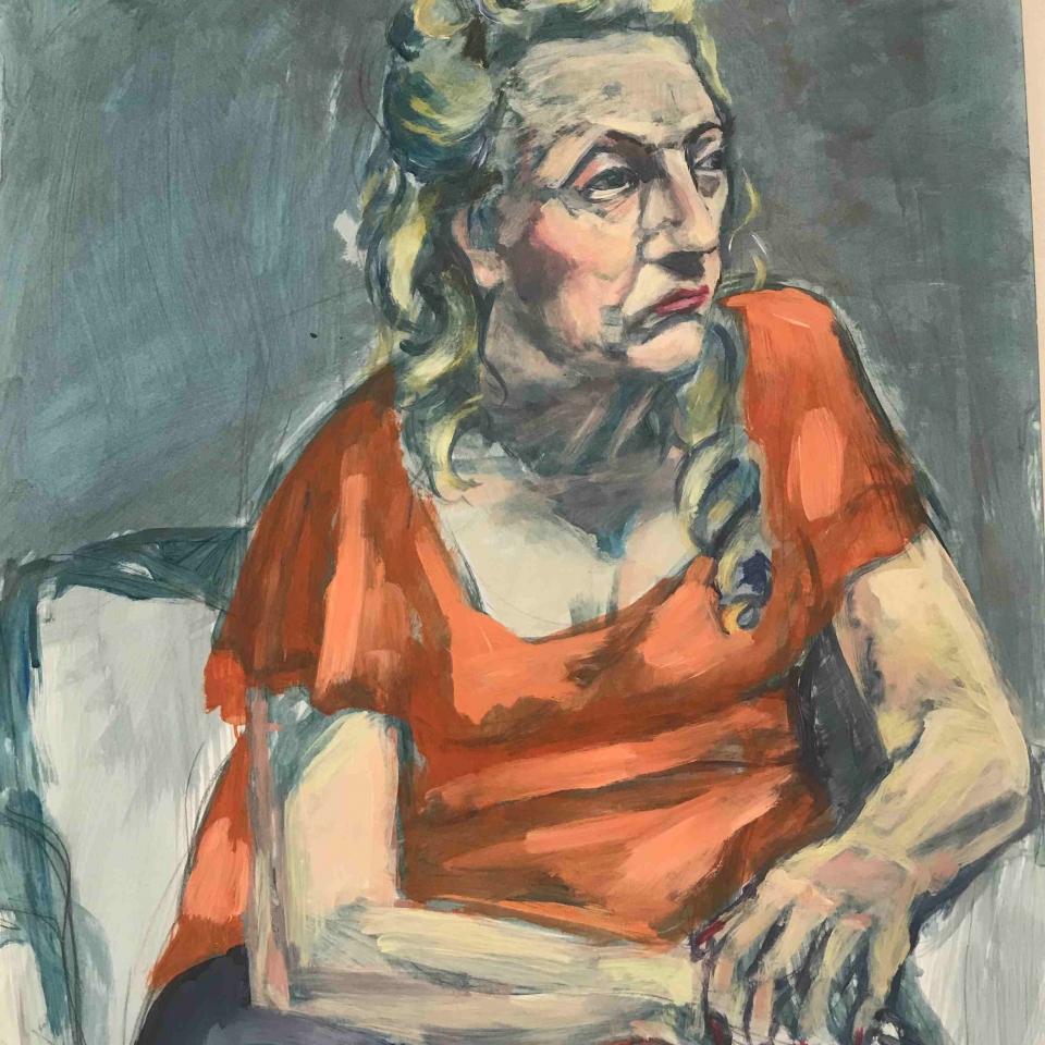 Margaret Squires, Pat, Acrylic, $300