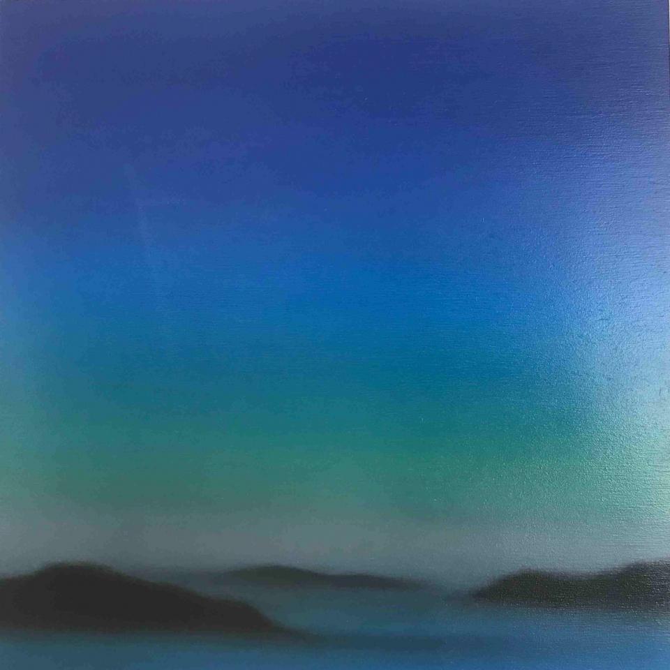 Patrice Erickson, Evening Cove, Oil, $350