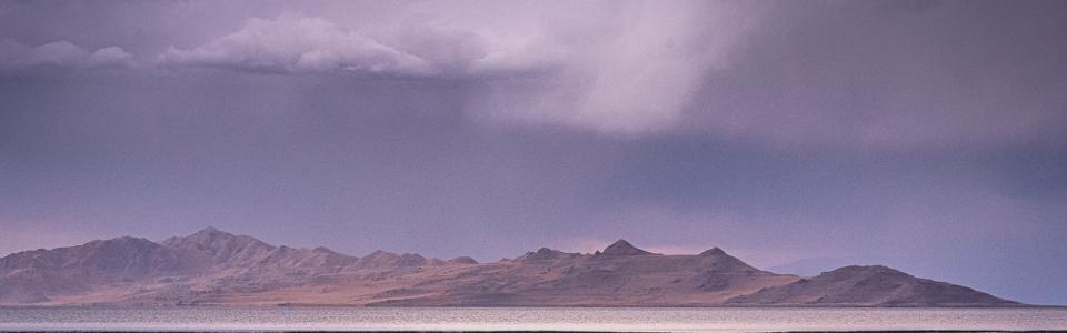 Arnold Berkman – Berkman-Great Salt Lake after a Rain
